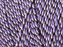 BAKER'S TWINE - VIOLET WHITE AND BLACK