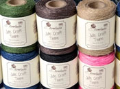 ASSORTED 10 PACK OF 50M JUTE TWINE SPOOLS