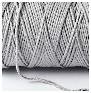 SOLID BAKERS TWINE - SILVER