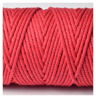 CHUNKY BAKERS TWINE SOLID - BEEFEATER RED