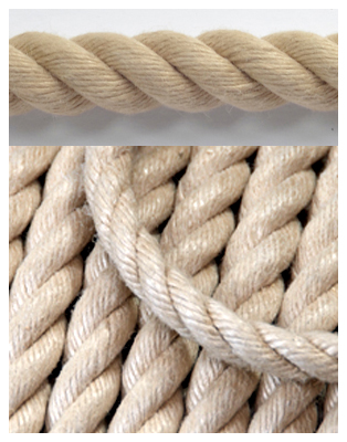 16mm EVERLASTO SYNTHETIC HEMP/POLYHEMP ROPE BY THE METRE