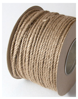 5MM EVERLASTO TWISTED JUTE ROPE