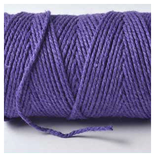 VIOLET - 100M  Bakers Twine Finest
