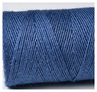 COLOURED JUTE TWINE - DENIM BLUE