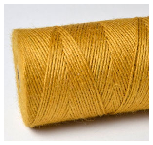 COLOURED JUTE TWINE - OLDE GOLD