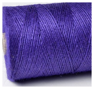 COLOURED JUTE TWINE - DEEP PURPLE