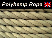 20mm BY THE METRE SYNTHETIC POLYHEMP/HEMPEX ROPE